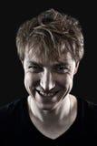 malicious man portrait Στοκ φωτογραφίες με δικαίωμα ελεύθερης χρήσης