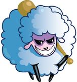 Malicious Sheep Royalty Free Stock Photography