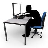 Malicious writing Stock Photos