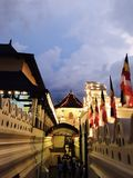 Maligawa kandy Σρι Λάνκα dalada Sri - ναός του δοντιού Στοκ φωτογραφίες με δικαίωμα ελεύθερης χρήσης