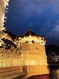 Maligawa Kandy Sri Lanka - temple de dalada de Sri de la dent Photographie stock libre de droits