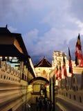 Maligawa Kandy Sri Lanka - temple de dalada de Sri de la dent Photos libres de droits