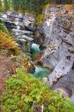 Maligne Canyon Jasper National Park Royalty Free Stock Photography