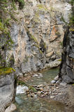 Maligne Canyon. In Jasper National Park, Alberta, Canada Stock Image