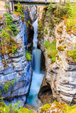 Maligne Canyon. In Jasper National Park, Alberta Canada Stock Photos