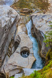 Maligne Canyon Stock Images