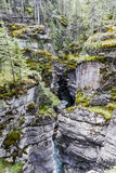 Maligne Canyon, Jasper National Park, Alberta, Canada Royalty Free Stock Photography
