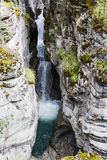 Maligne Canyon, Jasper National Park, Alberta, Canada Royalty Free Stock Image
