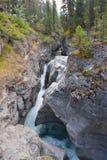 Maligne canyon. In Jasper national park Canada Royalty Free Stock Photo