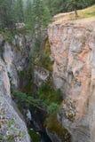 Maligne canyon. In Jasper national park Canada Stock Image