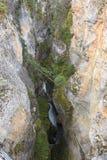 Maligne Canyon Royalty Free Stock Photos