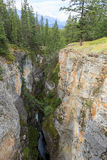 Maligne Canyon. In Alberta Canada Stock Photos