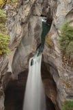 Maligne Canyon Waterfall Stock Photography