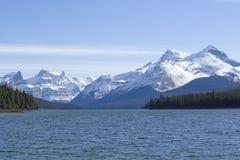 Maligne lake Stock Image