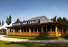 Free Maligne Lake Chalet, Jasper NP Stock Images - 63064534