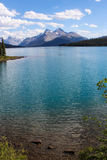 Maligne Lake, Jasper national park Stock Photos