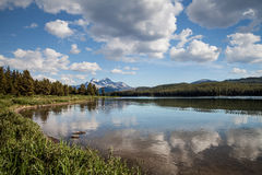 Maligne Lake- Jasper National Park- Alberta- CA Stock Photography