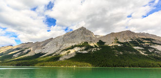 Maligne Lake. In Jasper National Park, Alberta, Canada Stock Images