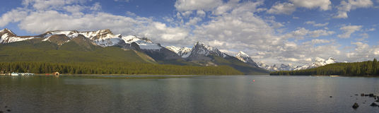 Maligne Lake, Jasper National Park Stock Image