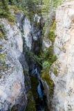 Maligne-Schlucht, Jasper National Park, Alberta, Kanada Lizenzfreie Stockfotografie
