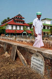 Malik Dinar Mosque in Kerala Stock Photo