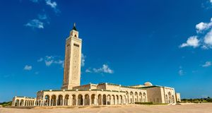 Malik Ibn Anas Mosque in Carthage, Tunisia. Malik Ibn Anas Mosque in Carthage - Tunis, Tunisia Stock Photos