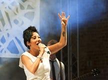 Malika Ayane Stock Photography