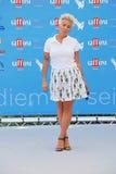 Malika Ayane al Giffoni Film Festival 2015. Giffoni Valle Piana, Salerno, Italia - 19 Luglio, 2015 : Malika Ayane al Giffoni Film Festival 2015 - il 19 Luglio Stock Photography