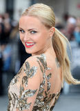 Malin Akerman. Arriving for the Rock Of Ages Premiere, Odeon Leicester Square, London. 10/06/2012 Picture by: Alexandra Glen / Featureflash Royalty Free Stock Photos