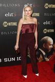 Malin Akerman. Actress Malin Akerman attends the `Billions` Season Two Premiere at Cipriani`s on February 13, 2017 in New York City Royalty Free Stock Images