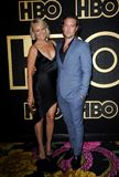 Malin Akerman and Jack Donnelly. At the HBO`s Official 2018 Emmy After Party held at the Pacific Design Center in West Hollywood, USA on September 17, 2018 Stock Photography
