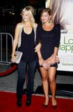 Malin Akerman and Jennifer Akerman. At the Los Angeles premiere of `Love Happens` held at the Mann`s Village Theatre in Westwood on September 15, 2009 Stock Photography