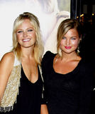 Malin Akerman and Jennifer Akerman. Malin Akerman at the World Premiere of `Love Happens` held at the Mann Village Theater in Westwood, California, United States Royalty Free Stock Photo