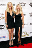 Malin Akerman and Julianne Hough. At the 2012 Spike TV's Guys Choice Awards held at the Sony Studios in Culver City on June 2, 2012 Royalty Free Stock Photography