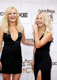 Malin Akerman and Julianne Hough. At the 2012 Spike TV's Guys Choice Awards held at the Sony Studios in Culver City on June 2, 2012 Stock Image