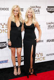 Malin Akerman and Julianne Hough. At the 2012 Spike TV's Guys Choice Awards held at the Sony Studios in Culver City, USA on June 2, 2012 Royalty Free Stock Photography