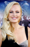 Malin Akerman. LOS ANGELES, USA - JUNE 8: Malin Akerman at the Los Angeles premiere of Rock of Ages held at the Grauman's Chinese Theater, Los Angeles, USA on Stock Photo