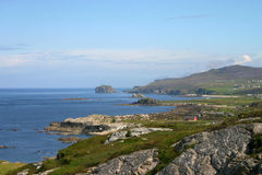Malin Head. View form Malin Head - Most Northerly Point in Ireland Royalty Free Stock Image