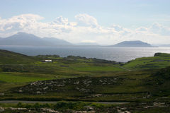 Malin Head. View form Malin Head - Most Northerly Point in Ireland Stock Image