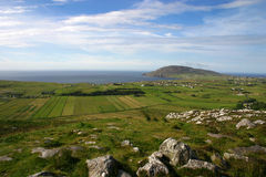Malin Head. View form Malin Head - Most Northerly Point in Ireland Stock Photo