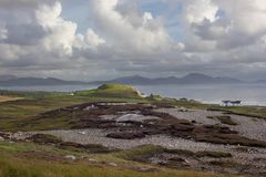 Malin Head. In County Donegal, Ireland Stock Images