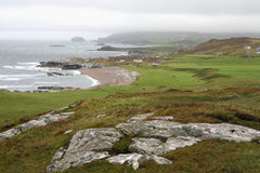 Malin Head, Ireland Coast. Malin Head, the most northerly part of Ireland, on a typically overcast day Stock Photography