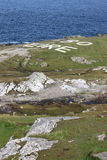 Malin Head in Ireland. Malin Head in County Donegal, the northernmost point of Ireland Royalty Free Stock Photos