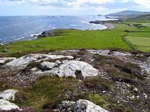 Malin Head, Ireland. Malin Head is the Northernmost point on the Irish mainland and part of the wild Atlantic way Stock Photo
