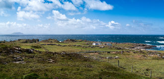 Malin Head, Irish panorama Royalty Free Stock Photos
