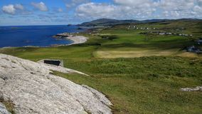 Malin head view Stock Image