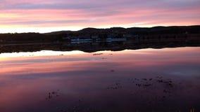 Malin town scene. Sky and sea reflect Royalty Free Stock Photos