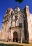 Malinalco chuch. Principal church and monastery of the city of malinalco, mexico Royalty Free Stock Photo