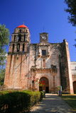 Malinalco convent. Ancient convent of the city of malinalco, mexico Royalty Free Stock Photos