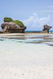 Malindi Plaża Fotografia Royalty Free